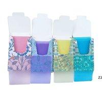 Desechable anti-polvo Mini jabón de viaje Papel de papel Tabletas de lavado de manos Productos de limpieza de 4 colores Hojas perfumadas HWF10211