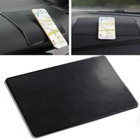 Pad de voiture antidérapant Sticky ANTI Slide Dash Tableau de clou de téléphone portable Mat Automobiles Tableau de bord Tableau antidérapant Tapis adhésifs pour CellPhone GPS