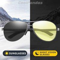 2021 Aviation Driving Photochromic Sunglasses Men Polarized Glasses Women Day Night Vision Driver Eyewear Uv400 Zonnebril Heren