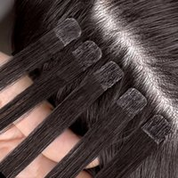 Ali Magic Factory Outlet Invisible Tape en Remy Human Hair Extensions Russian Brasilian Indian PERULIAN Conector en secreto Pequeño 100 g 40 Pieces 12 a 28 pulgadas