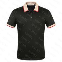 Erkek Polo Gömlek Yaz Erkekler T-Shirt Pamuk Katı Renk Kısa Kollu Ince Solunabilir Streetwear Erkek Tees Üstleri ABD Boyutu XXXL Giyim Nakış Esneklik