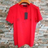 Mode Mens T-shirts Designer Summer Manches courtes Couleur Solide Couleur Décoration Hommes Femmes Couples Tee Hip Hop Hop Hop