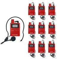 Одностороннее системные туристические путеводители 1 передатчик и 39 приемников портативные беспроводные аудиосистемы Microphones