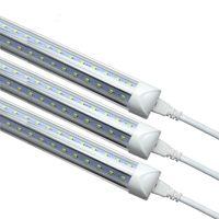 LED 조명 T8 V 그늘 통합 2400mm 8 피트 60W 270도 튜브 램프 CE 및 RoHS 품질로 AC85-265