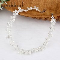 Beadsland Chokers Necklaces Simulated- pearl Handiwork Fashio...