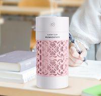 250ml 미니 음소거 초음파 공기 가습기 아로마 필수 촉촉한 가습기 가정용 자동차 용 LED 조명