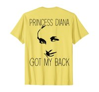 Princesa Diana Camiseta de volta - Princesa Diana T Shirt De volta