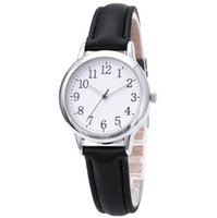 Clear Numbers Fine Leather Strap cwp Quartz Womens Watches Simple Elegant Students Watch 31MM Dial Fresh Wristwatches
