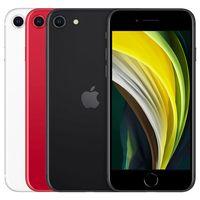 Renovierte Original Apple iPhone SE 2020 SE2 4,7 Zoll Hexa-Kern 3 GB RAM 64 GB 128 GB 256GB ROM 12MP Kamera 4G LTE Unlocked Smartphone Kostenloses DHL 30pcs