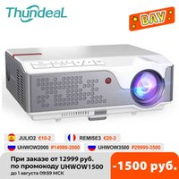 THUNDEAL FULL HD Proyector TD96 TD96W Android WiFi LED Proyector nativo 1920 x 1080P Hogar 3D Weatre Smart Phone Beamer