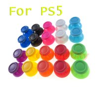 For PS5 3D Thumbstick Mushroom Cap Analogue Analog Colorful Joystick Stick Cap For PlayStation PS5 Controller
