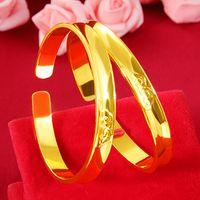 Braccialetto dell'oro dell'oro di spessore antico del braccialetto di Xiangyun del braccialetto del Vietnam dell'oro dell'oro dell'oro del braccialetto del Vietnam Giapponese e del braccialetto della nuvola di modo