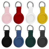 Airtag Loop Silikongehäuse Schutzhülle mit Schlüsselring für Apple Airtags Smart Bluetooth Wireless Tracker Anti-Lost