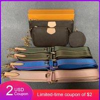 Moda Crossbody Bolsas De Ombro Mulheres 4 Cores Messenger Bag 2 PCS