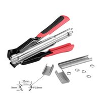 Power Tool Sets C Type Manual Nail Gun Assembling Cage Pliers Chicken Birds Poultry Cages Fence Installation Animal Accessories