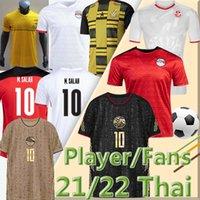 21/22 Egitto M.salah # 10 calcio jersey fan giocatore versione del Ghana del sud Ghana Tunisia Africano 2021 National Team Home Away Third Men Kit Camicie da calcio Thai Qualità