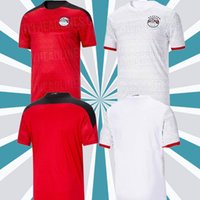 Top thailand quality 20 21 Egypt soccer jersey national team Home Away M.SALAH football top kits maillot de foot SALAH #10 Camisetas de futbol