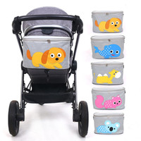 Stroller Parts & Accessories Baby Bag Waterproof Diaper Organizer Mommy Nappy Accessorie Bottle Holder Large Capacity Cartoon