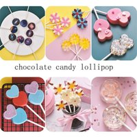 Lolli Silicone Mold 3D Hand Made Sucker Sticks Chocolate Cake Jelly Candy With Party Decoration CCD3486 M6TE