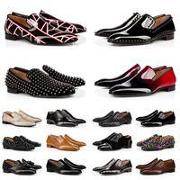 С коробкой красных дна мужские платье обувь оригинальные кожаные повседневные мокасины кроссовки мода Chaussures мужчины формальные роскоши дизайнеры платформы Business плоский размер пятки 13