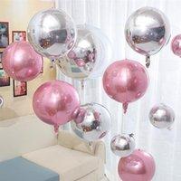 Decoración de la cadena de la cadena del globo de la hoja de aluminio del diseño de 15 pulgadas, suministros de fiesta Dispositivo de boda de cumpleaños