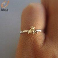 Cluster Rings Women Fashion Cute Women's Little Bee Female Chic Dainty Party Delicate Wedding Jewelry