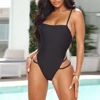 One-Piece Suits Bodysuit Women Beach Wear Sexy Summer Swimsuit Bikini Backless Swimwear Bathing 2021