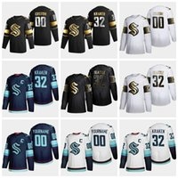 Seattle Krakes Ice Hockey Jerseys 2021 Stagione Black Golden Edition Uomo Donna Giovani GIOVANI BAMBINI PERSONALIZZATI