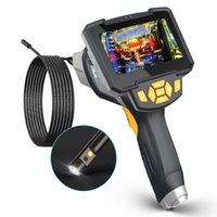 USB-Endoskop-Kameratyp C-Dual-Linsen-Endoskopie-Kamera starre endoskopische Motorablaufrohrinspektionskameras mit Bildschirm