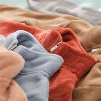Видмид Девушка Девочка Детская плюшевая утолщенная осень и зимняя одежда Иностранная одежда Top P10 210811