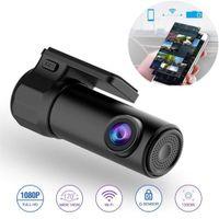 Mini Hidden 1080p Full HD Vehicle Car DVR Dash Cam WiFi Camera 170 Degree Wireless Mobile Phone Interconnection Auto Registrator