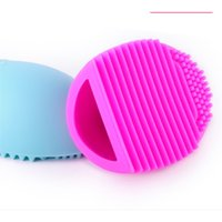 500sets Brush Egg For Cleaning Makeup Brushes Silicone Brushegg Finger Glove Make Up Brush Cleaner Limpiador De Pinceles De Maquillaje