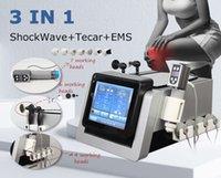 Smart Tecar Wave 3 en 1 CET RET Thérapie Diathermy Thérapie Détendeur Combinée Machine multifonction de stimulation des muscles électriques et EMS