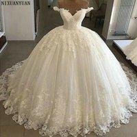 Custom Made Beautiful Sparkle Wedding Dressesi Bling Sweetheart Bridal Ball Gown WeddingDresses Plus Size Vestidos