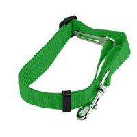 Cinturón de seguridad para perros de mascotas ajustable Nylon Mascotas Puppy Asiento de plomo Leash Arnés de perro Vehículo Cinturón de seguridad Suministros para mascotas Clip de viaje 444 V2