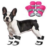 أحذية ملابس الكلب ماء في الهواء الطلق في فصل الشتاء الدافئ الحيوانات الأليفة جرو الجوارب عاكس عدم الانزلاق دائم الأحذية دائم ليورك تشيهواهوا الكلاب