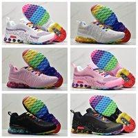 Olmak Gerçek Reoks Erkek Koşu Ayakkabıları KPU Basketbol Ayakkabı Chaussures 2020 Örgü Örgü Trainer Zapatos Üçlü Siyah Beyaz Kadın Sneakers Düşük Fiyat