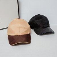 Diseñadores de moda bolas gorras sombreros para hombre lujo de lujo cubeta cuero sol sombrero de sol mujeres remiendo gorros gorro para hombres gorra de béisbol con letra