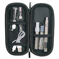 MOQ 5PCS Autêntico Evod Kits Dab Pen 510 Cartucho de Óleo 4 em 1 Bateria Elétrica VAPER Starter Kit Ugo V II Vaporizador de cera Micro USB Ego Pass