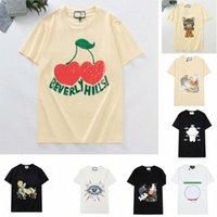Damen Herren Designer T-shirts T-shirts Modebrief Druck Kurzarm Katze Dame Tees Freizeit Kleidung 21ss T-shirts Kleidung 2021844z #