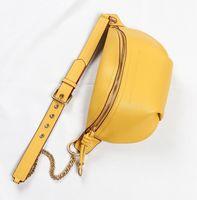 Luufan New Design Bolsas de cintura para mujer Diseñador Fanny Pack Moda Cinturón Top Capa Cuero Cuero Cintura Bolsa de Cintura Femenino Bolsa de viaje