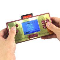 Для Ретро RS-20 FC Pocket Видеоигры Консоль Детя 2.6 дюйма красочные 600 Ручной игроки Игроки AV Cable Fit Pal NTSC TV Portable