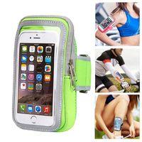 Cajas de teléfonos celulares Brazaletes de la bolsa de deportes para iPhone 12 11 Pro Max Samsung S21 Nota 20 Máximo 6.8 pulgadas Bolsa universal móvil