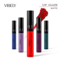 Lip Gloss 29 tipi di colore tondo tubo rotondo opaco velluto nebbia di protezione impermeabile Nessun trucco fuori tazza liquido