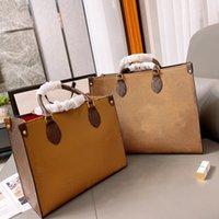 고품질의 고급 꽃 쇼핑 가방 숙녀 지갑 여행 totes 대용량 어깨 사무실 핸드백 파리 여성 패션 디자이너 가방 # 25