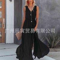Chrome Hearts Factory Ins better sale 2021 summer street trendsetter women's V-neck irregular skirt swing dress 7