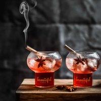 Drinkware Nuovo Beau Bar Cocktail Glass Dserrt Negozio Sweetmeats Bella fioritura fai da te Martini Tazza Smoothi Gelato Leben Milk Shake Tumbler