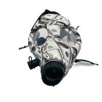 Silicone Mash Creative Acrylic Smoking Pipe Gas Mask Bongs Plastic Oil Burner Water Smoke Hand Pipes manufacturer