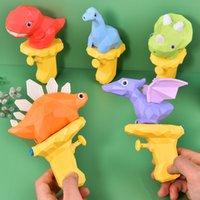 Dessin animé dinosaure pistolet 61 cadeau Summer Beach Water Pelutaire Jeux Parent Enfant Enfant Student Prizevso2