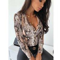 Hirigin feminina a pele de cobra impresso camisas senhoras quimono tops blusa manga comprida girar colarinho senhoras blusas casuais slim tops